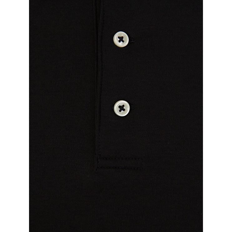 Polo Ralph Lauren Black Slim Fit Soft-Touch Polo Shirt