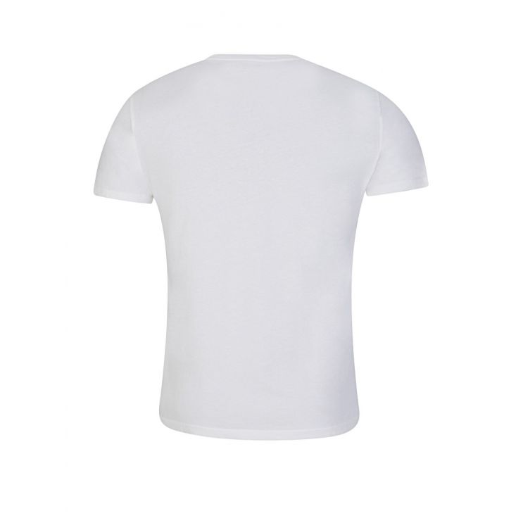 Polo Ralph Lauren White Custom Slim Fit T-Shirt