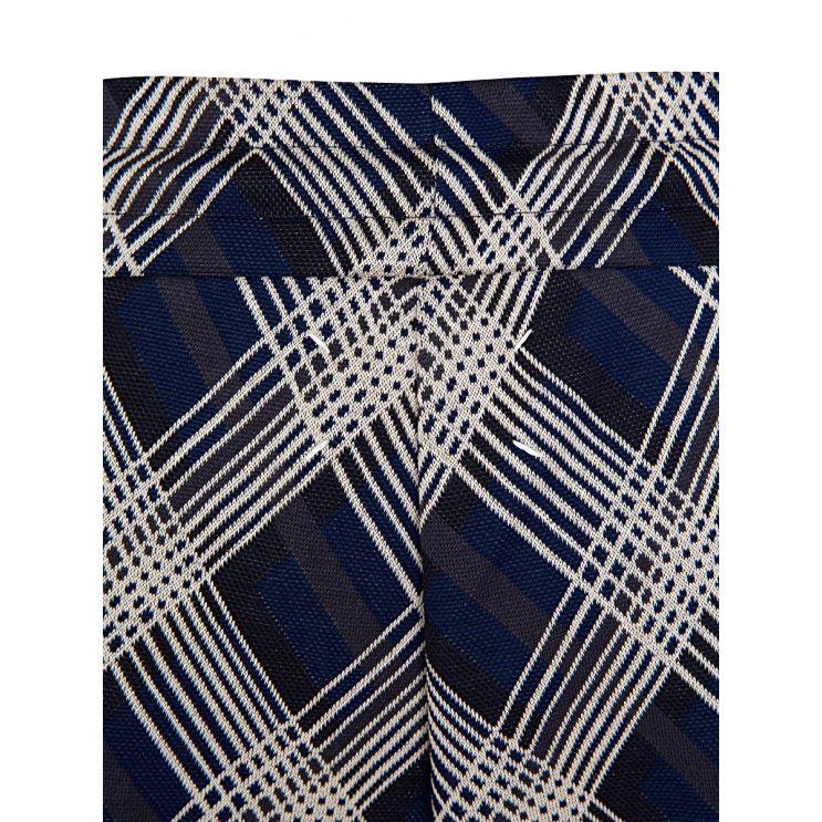 Maison Margiela Blue Check Shorts