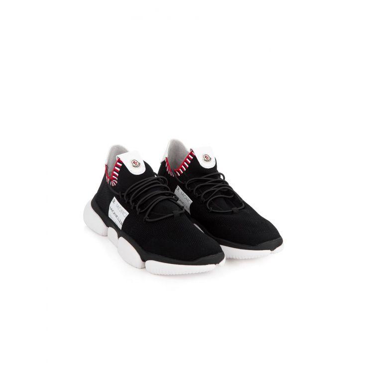 Moncler Black & White Bubble Sneaker