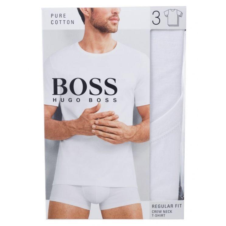 BOSS White 3-Pack Lounge T-Shirts
