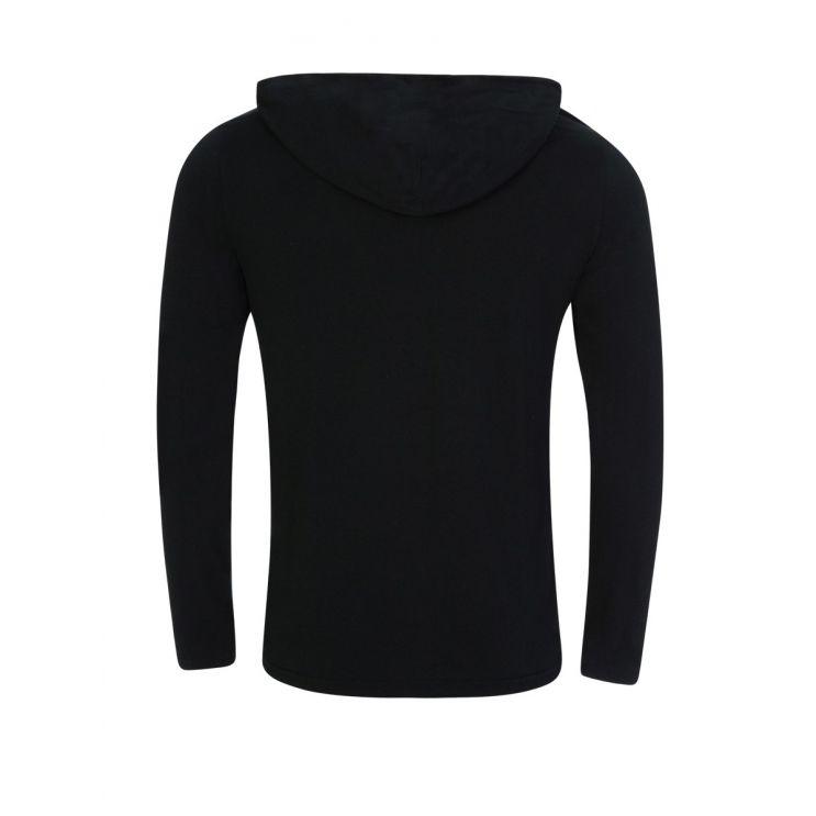 Polo Ralph Lauren Black Hooded T-Shirt
