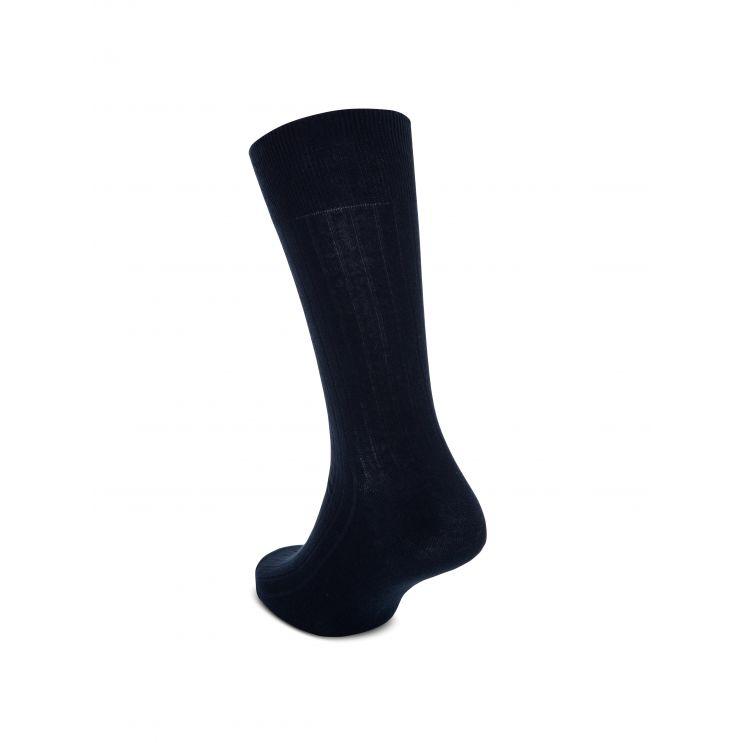 Polo Ralph Lauren Navy 2-Pack Ribbed Socks