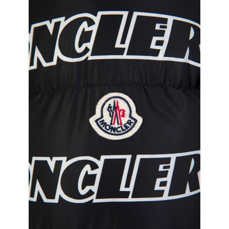 Moncler Black Faiveley Logo Jacket