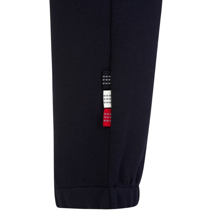 Moncler Navy Blue Cuffed Drawstring Sweatpants