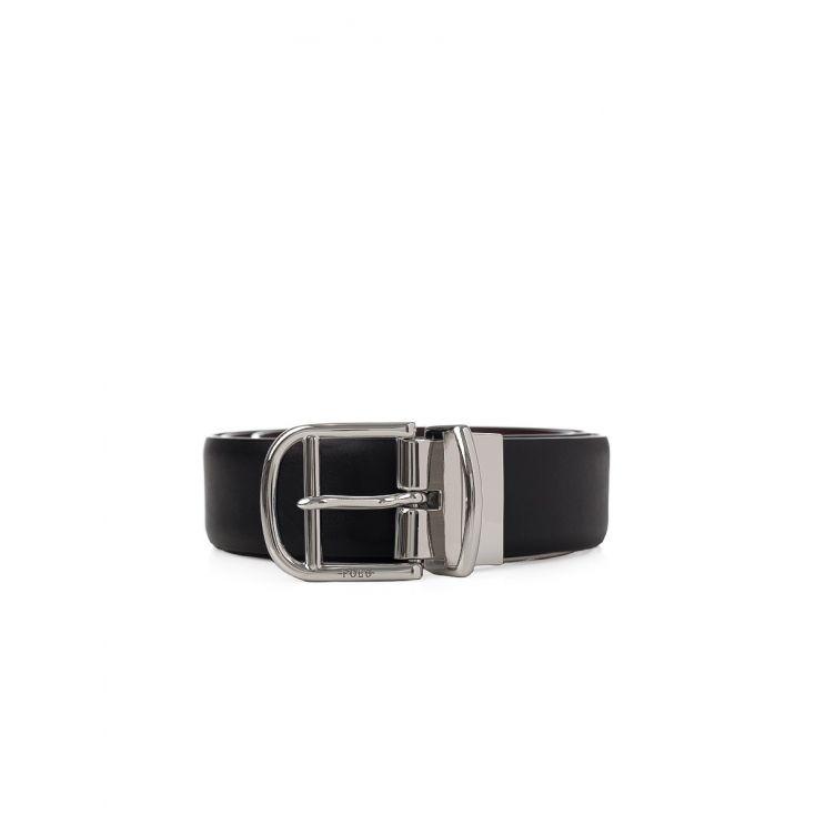 Polo Ralph Lauren Black / Sadle Reversible Belt