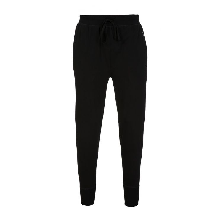 Polo Ralph Lauren Black Cotton Jersey Joggers