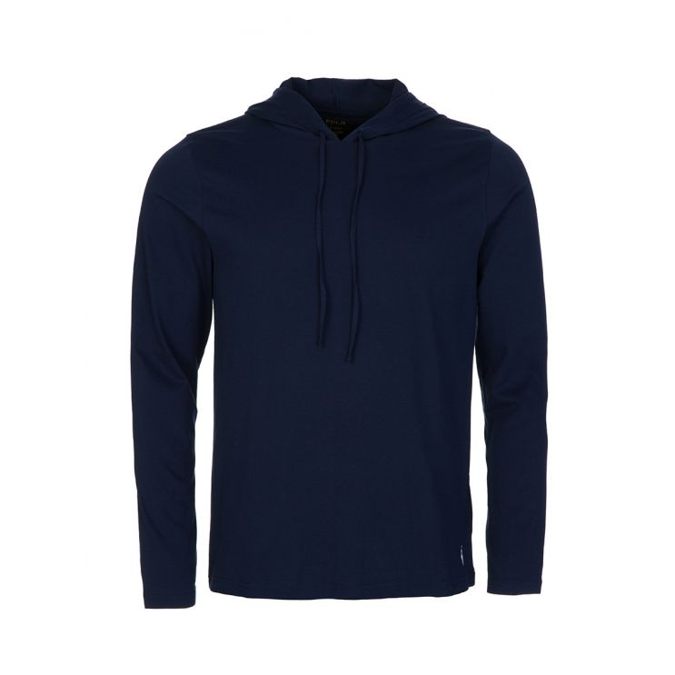 Polo Ralph Lauren Navy Cotton-Blend Sleep Hoodie