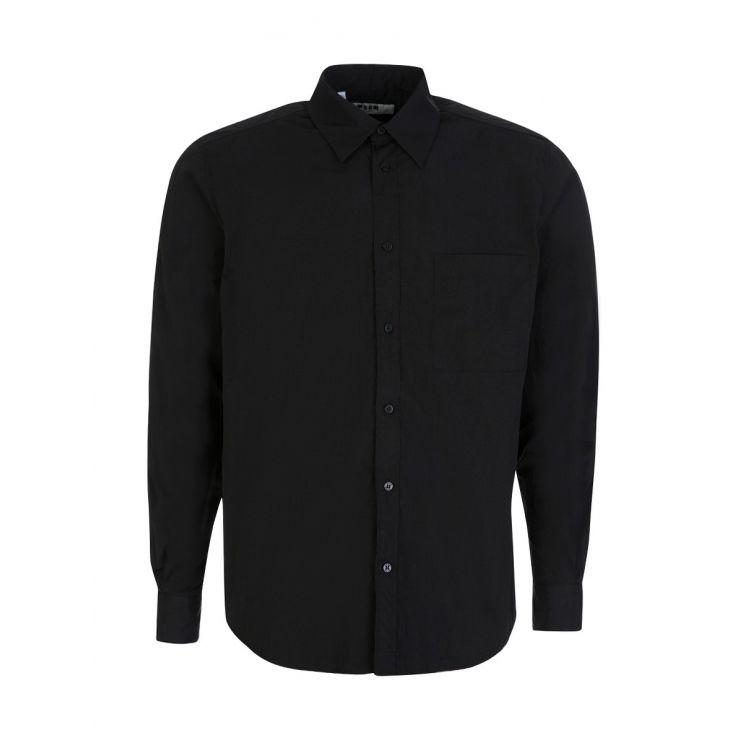 MSGM Black Poly Shirt