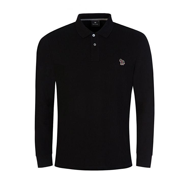 PS Paul Smith Black Polo Shirt