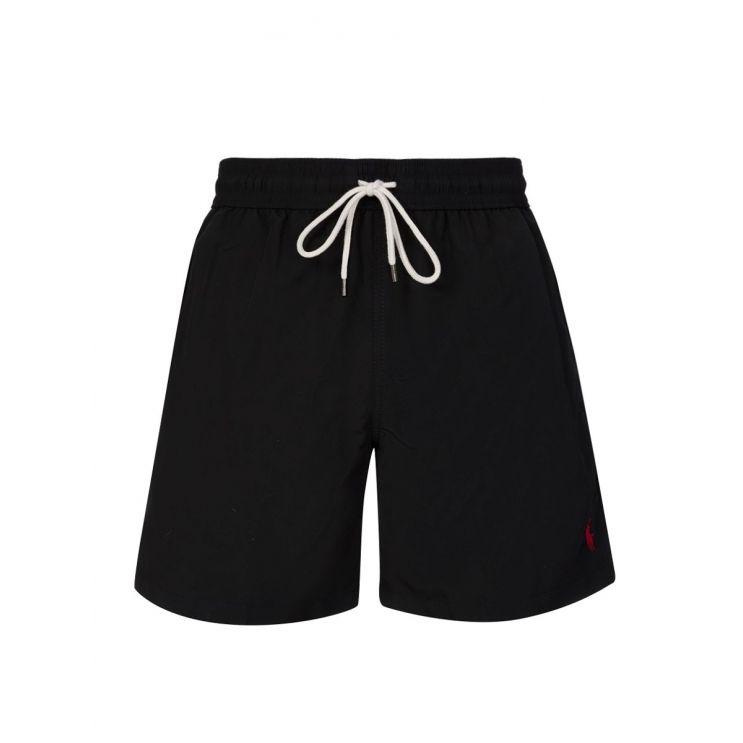 Polo Ralph Lauren Black Traveller Swim Shorts