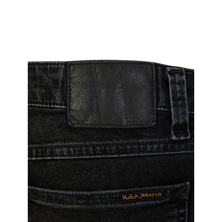 Nudie Jeans Co. Black Skinny Lin Jeans