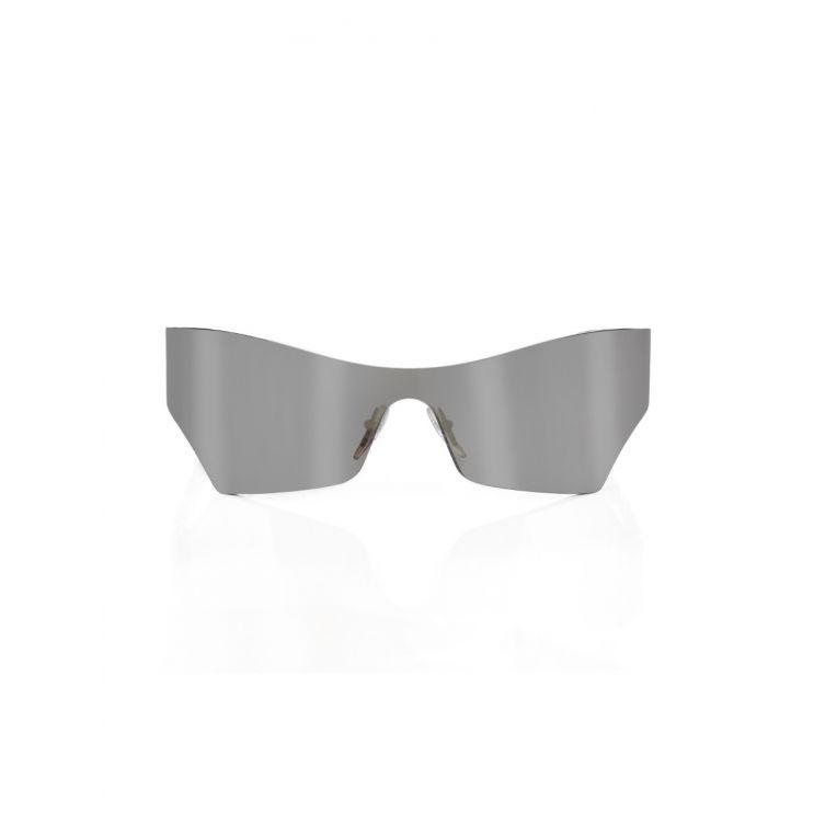 Balenciaga Silver Sport Slim Sunglasses