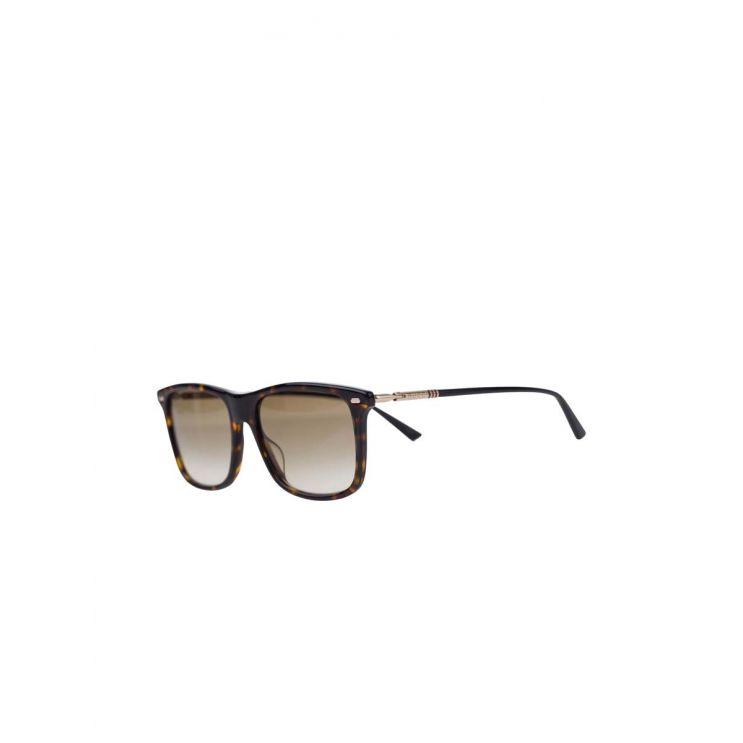 Gucci Gold/Brown Sunglasses
