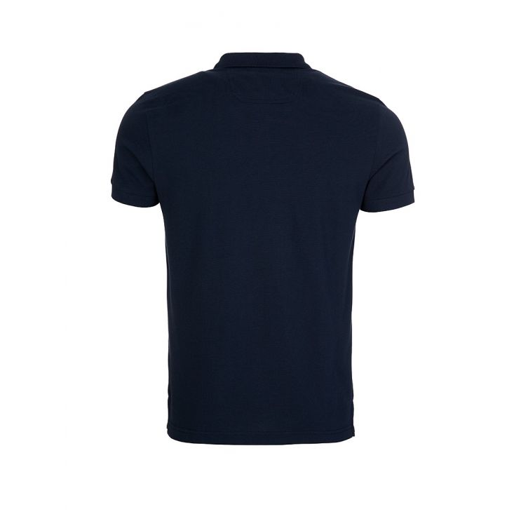BOSS Navy Logo Polo Shirt
