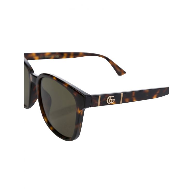 Gucci Brown/Black Tortoiseshell Havana Sunglasses