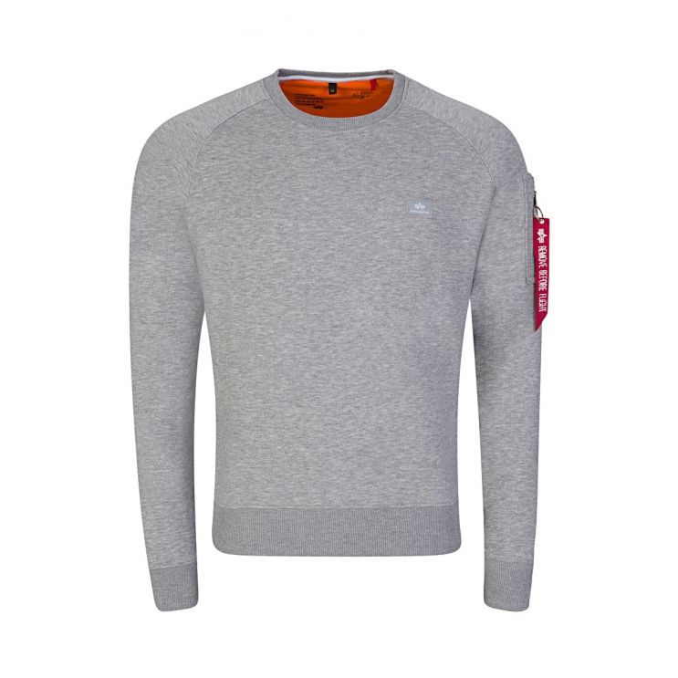 Alpha Industries Grey X-Fit Sweatshirt