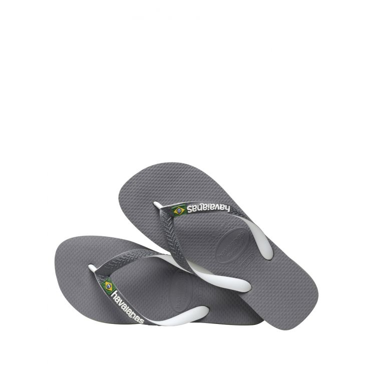 Havaianas Grey Brazil Mix Flip Flops