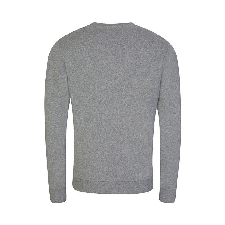 Calvin Klein Grey Cotton Logo Sweatshirt
