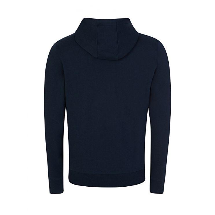 Calvin Klein Navy Cotton Logo Hoodie
