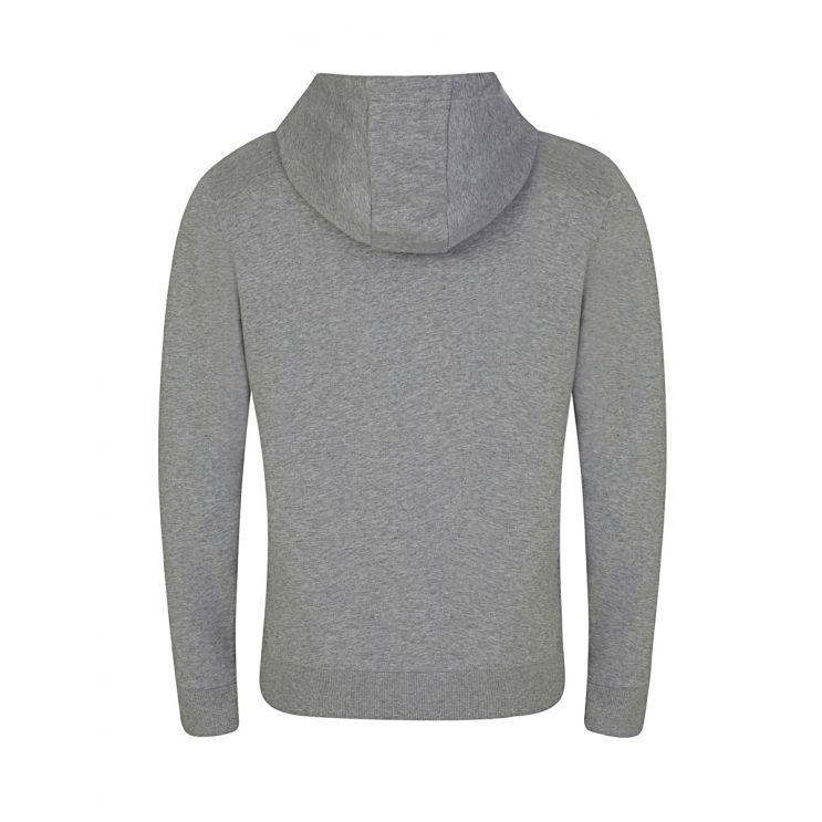 Calvin Klein Grey Cotton Logo Hoodie
