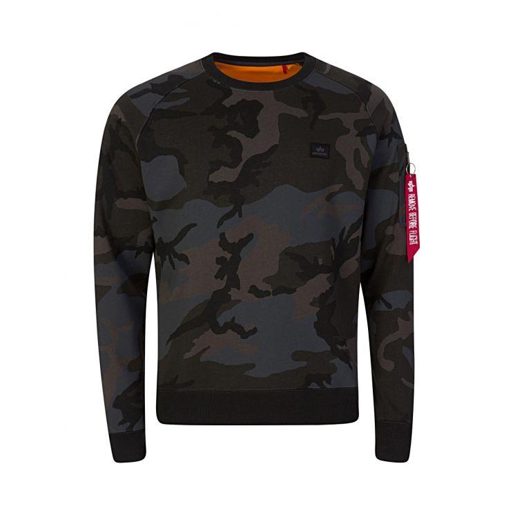Alpha Industries Black X-Fit Sweatshirt