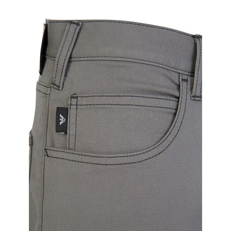 Emporio Armani Grey J45 Regular Fit Jeans
