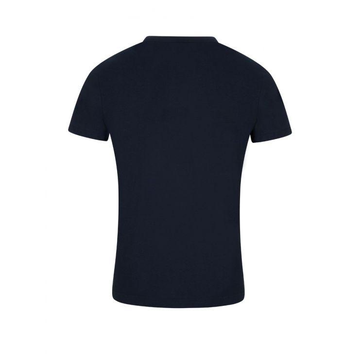 BOSS Navy Curved Logo T-Shirt