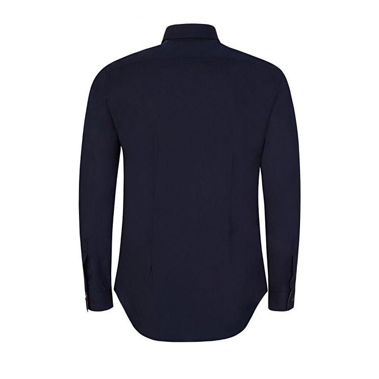 Paul Smith Navy Cotton Slim Shirt