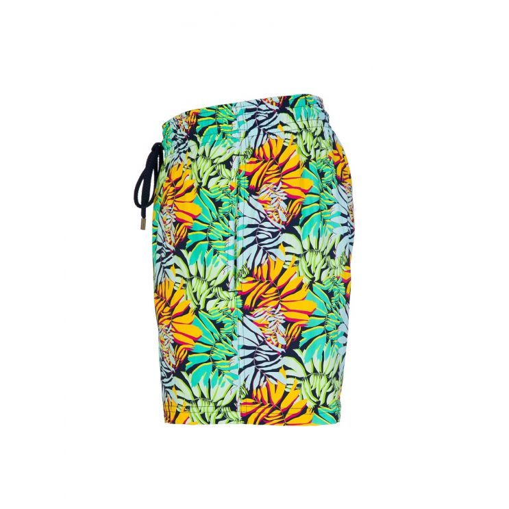Vilebrequin Green Stretch Jungle Swim Shorts