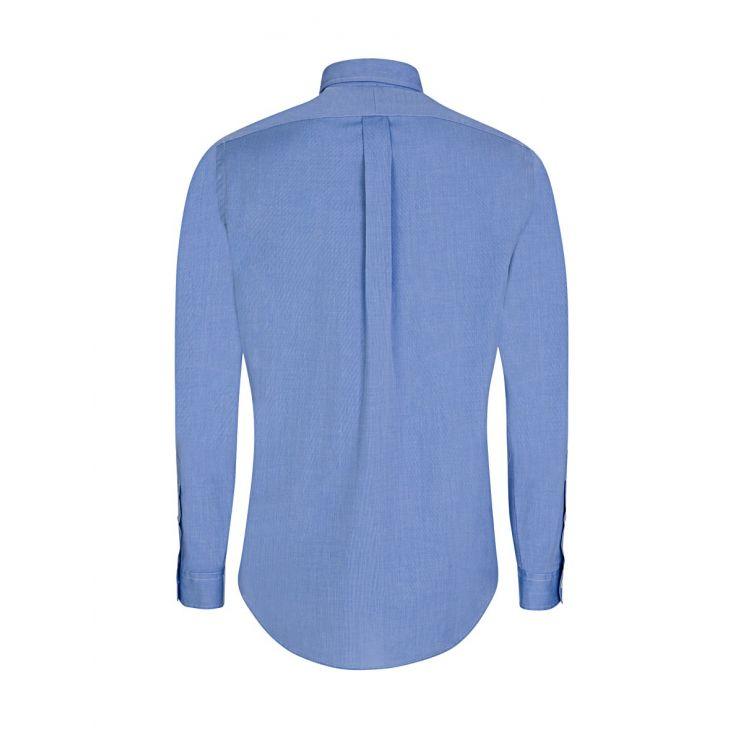 Polo Ralph Lauren Blue Cotton Slim Fit Shirt