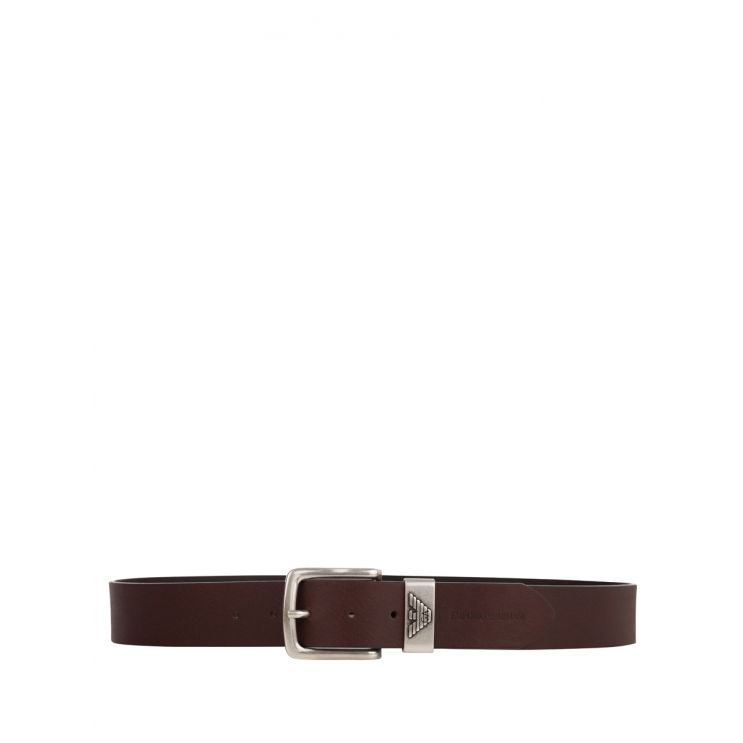 Emporio Armani Brown Fashion Belt