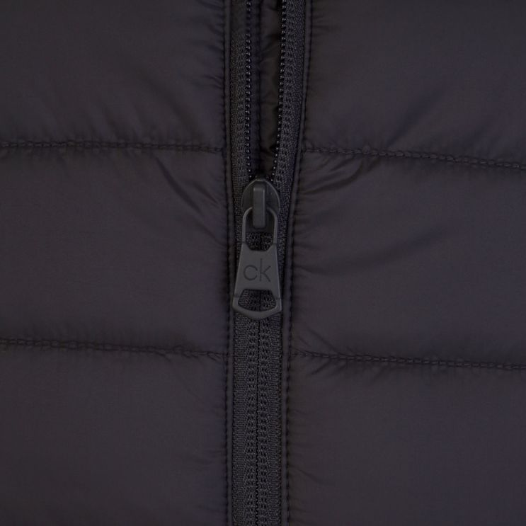 Calvin Klein Black Essential Lightweight Puffer Gilet
