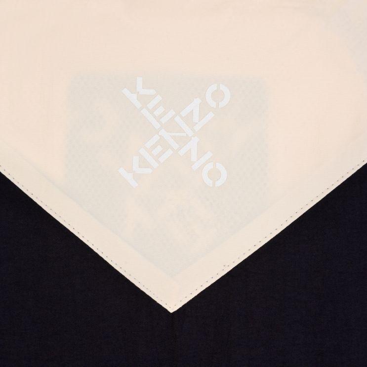 KENZO Black Sport Windbreaker Jacket