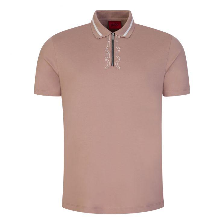 HUGO Pink Dolmar213 Polo Shirt