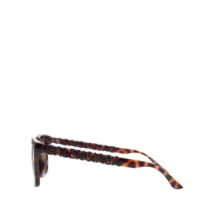 Balenciaga Black/Brown Sunglasses