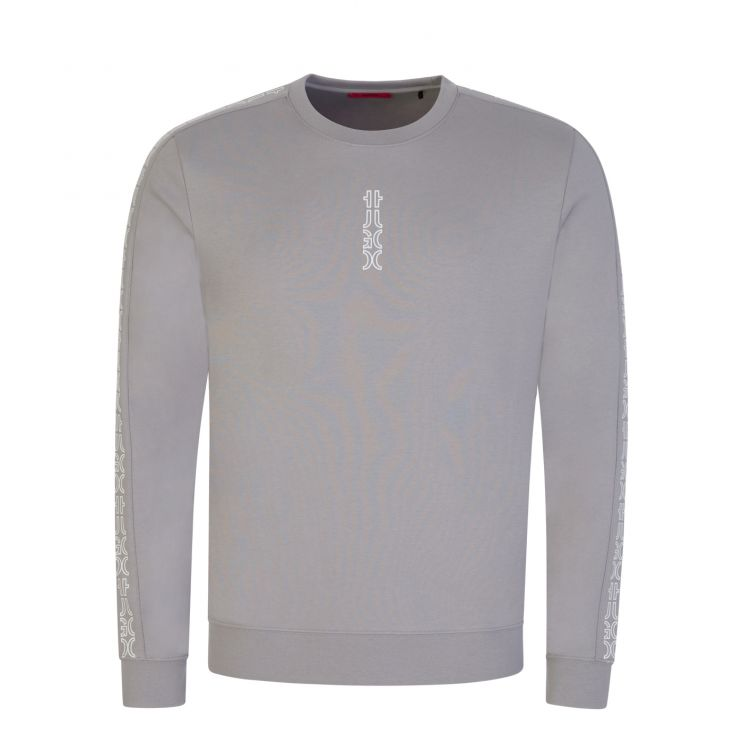 HUGO Silver Grey Doby213 Sweatshirt