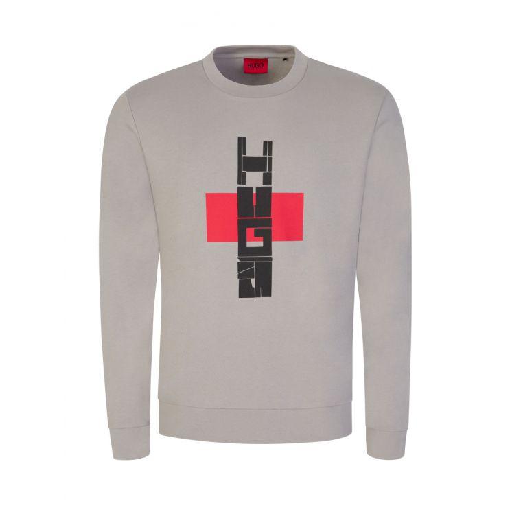 HUGO Grey Denguin Sweatshirt