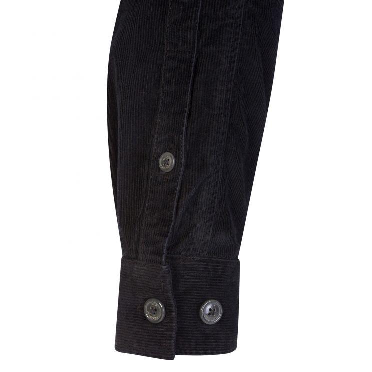 C.P. Company Black Stretch Corduroy Overshirt