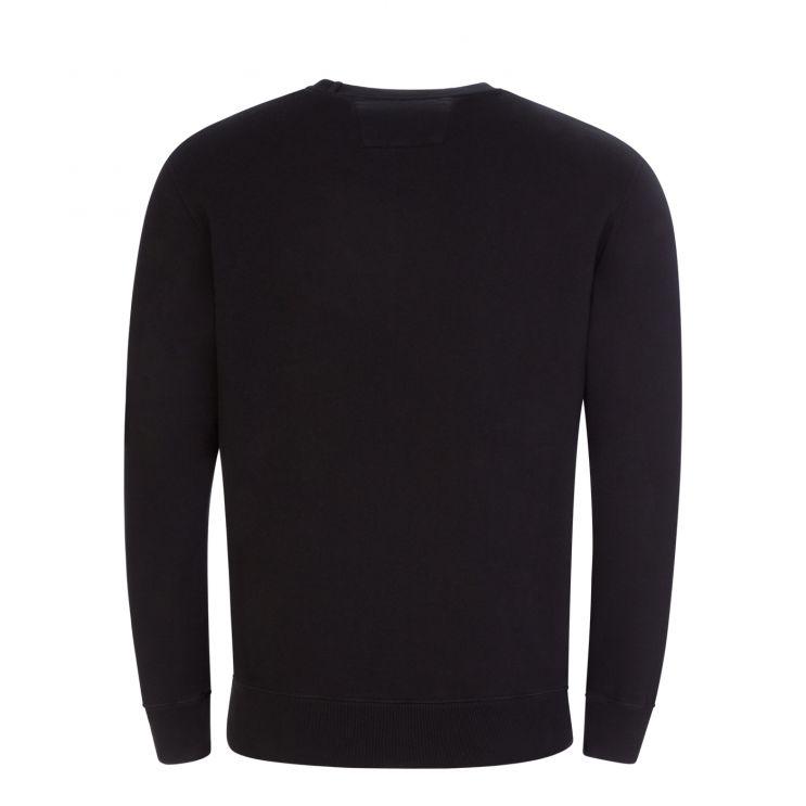 C.P. Company Black Makò Cinquanta Logo Sweatshirt
