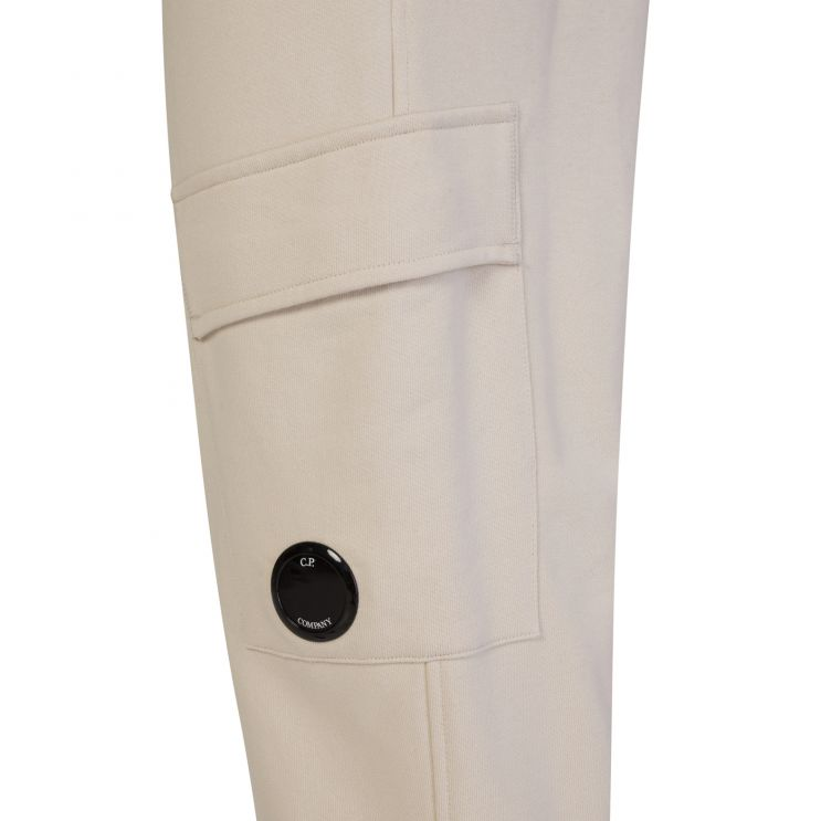 C.P. Company Beige Fleece Sweatpants
