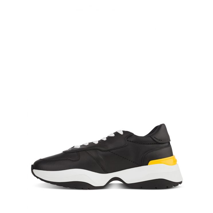 Dsquared2 Black D24 Red Tag Trainers
