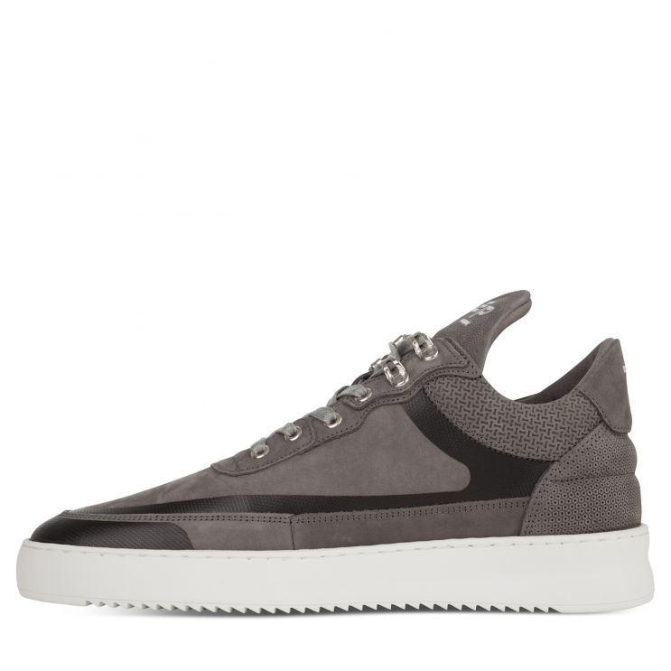 Filling Pieces Grey Low-Top Ripple Meta Trainers