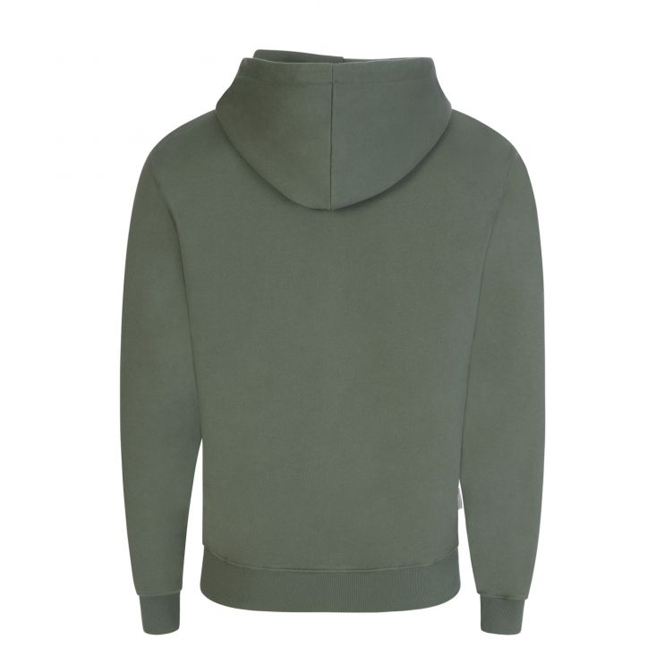 Filling Pieces Green Essential Popover Hoodie