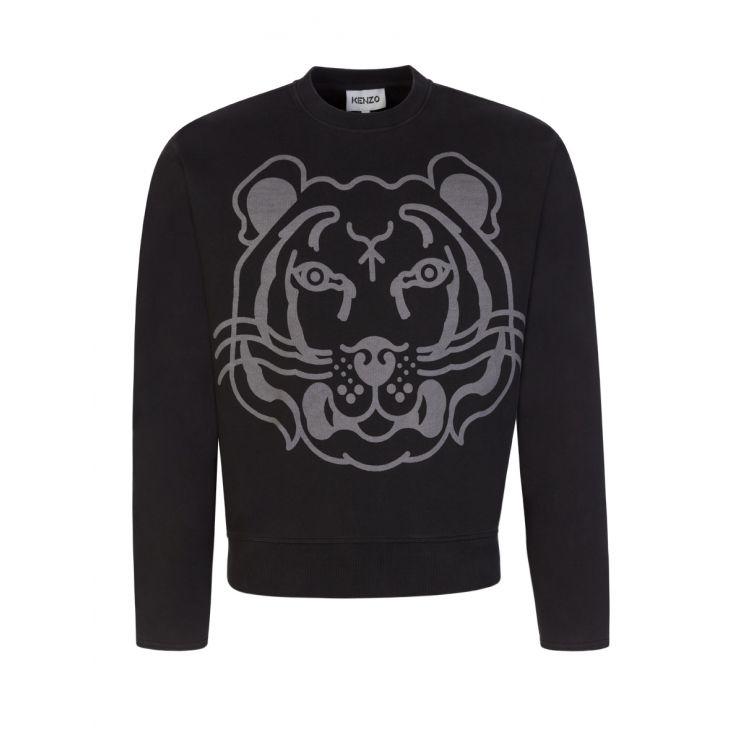 KENZO Black K-Tiger Sweatshirt