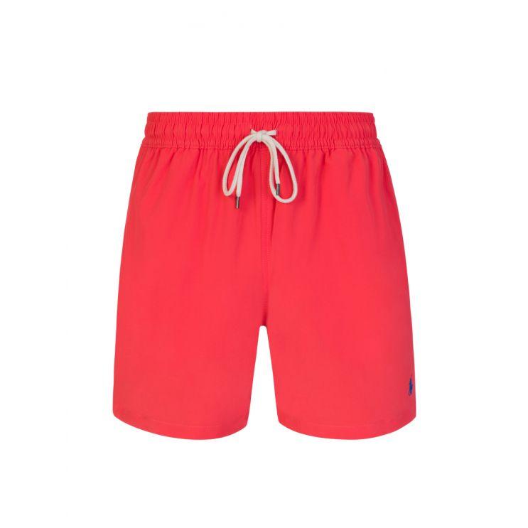 Polo Ralph Lauren Red Traveller Swim Trunks