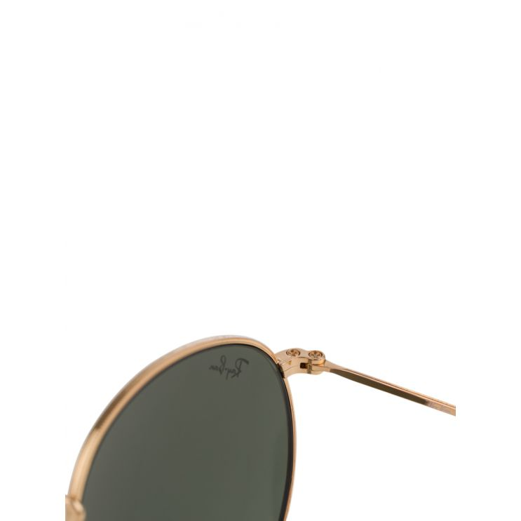 Ray-Ban Gold Round Metal Legend Sunglasses