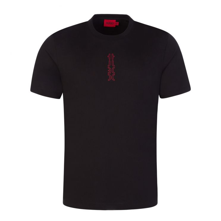 HUGO Black Durned213 T-Shirt