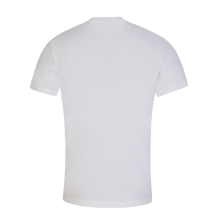 Calvin Klein White Organic Cotton Box Logo T-Shirt