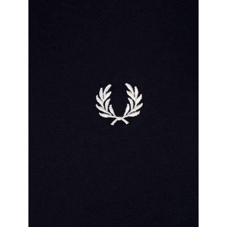 Fred Perry Navy Blue Ringer T-Shirt